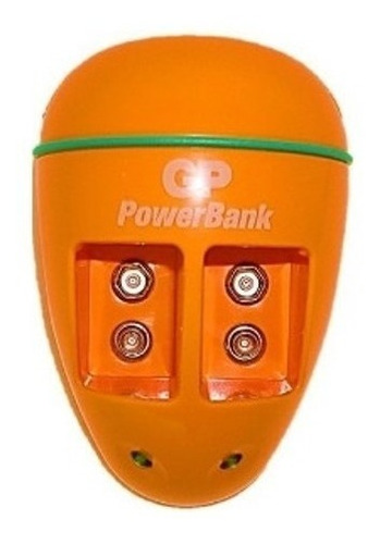 cargador gp para baterias 9v pb09 sin baterias