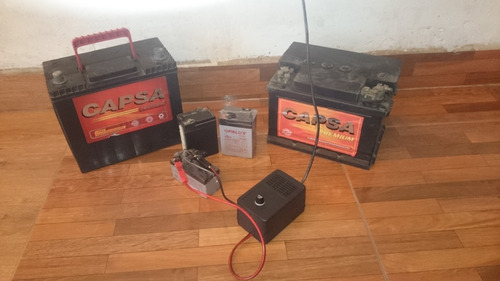 cargador grande de batería de moto, auto, envio gratis