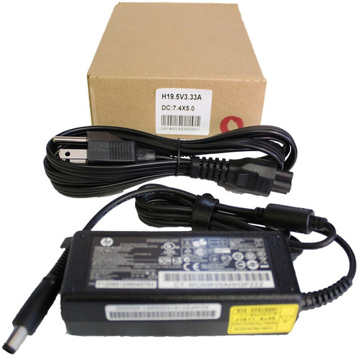 cargador hp 19v 3.33a pin central 7.4 x 5.0mm hp cq45 cq58