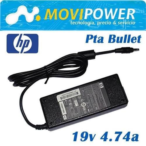 cargador hp 19v  4.74a 90w punta bala. envío gratis perú!!
