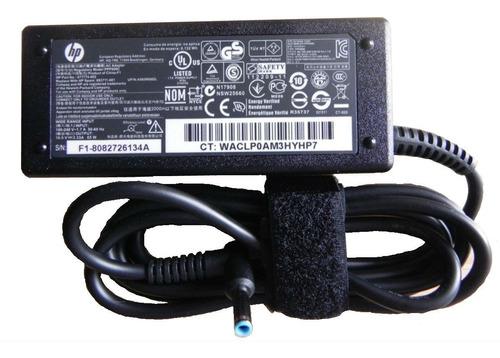 cargador hp envy original g2 punta azul 19.5v 2.31- 3.33a