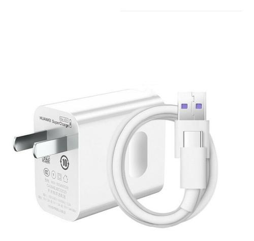cargador huawei mate 20 pro p30 pro super carga rapida 40 wats / carga super rapido / 40 minutos - tienda