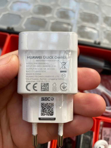 cargador huawei quick charge original sec certificado