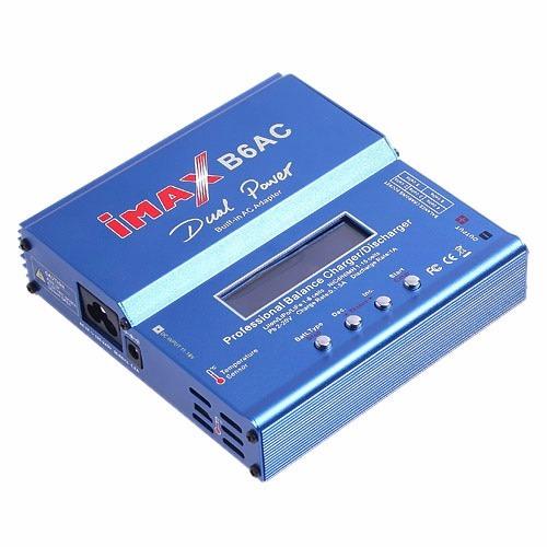 cargador imax b6ac con fuente incluida-local a la calle.