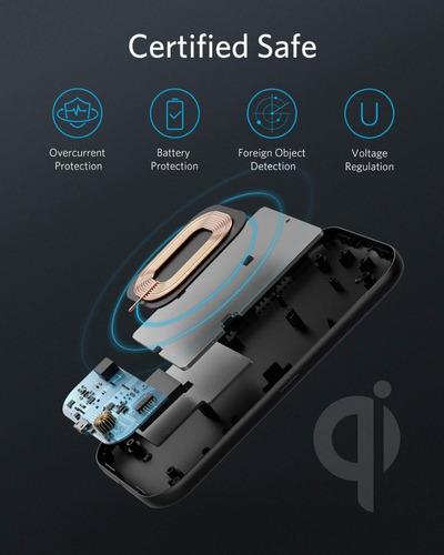 cargador inalambrico - anker powerwave base pad