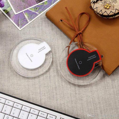 cargador inalámbrico carga rápida base iphone 8 plus x s8 s9