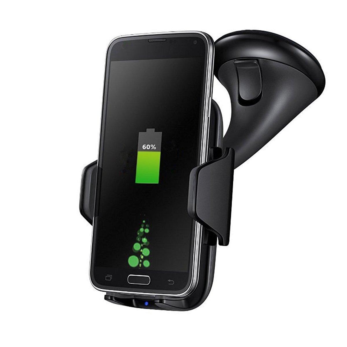 dde6ff8becf cargador inalámbrico carga rápida celular carro samsung ipho. Cargando zoom.