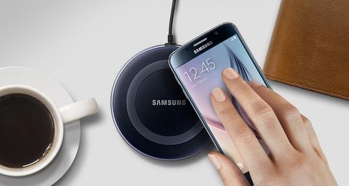 cargador inalambrico carga rapida original samsung iphone