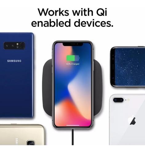 cargador inalambrico iphone 8 s9 s10 note 10 plus rapido