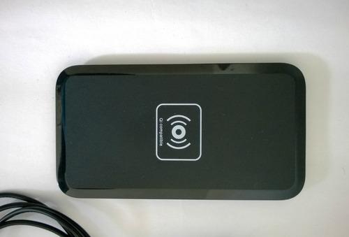 cargador inalámbrico qi standard nokia, lg, google, iphone