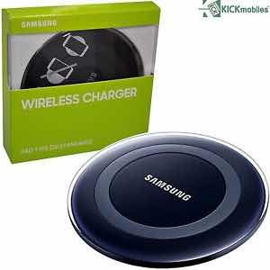 cargador inalámbrico samsung qi s9 s10 + iphone etc