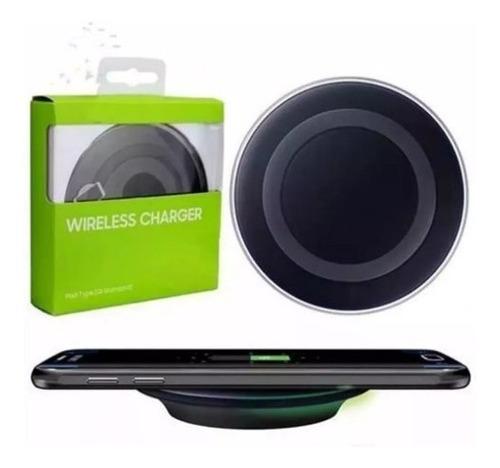 cargador inalámbrico samsung s7 s8 iphone x y 8 wireless