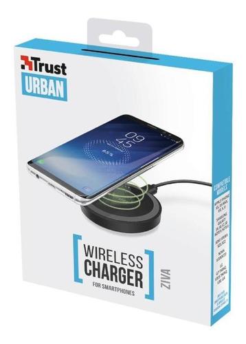 cargador inalambrico trust aria para smartphones compatibles