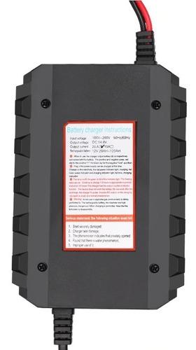 cargador inteligente bateria automovil moto camion 12v 20amp