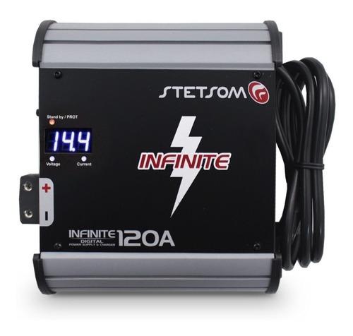cargador inteligente de bateria stetsom de 120 amp a 14.4v