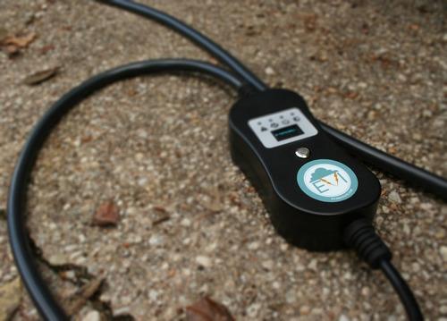 cargador inteligente portátil ev de doble voltaje de lujo pl