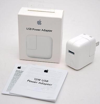 cargador ipad 12 w ipod iphone apple sellado envió gratis