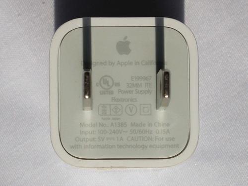 cargador iphone  4  -  4s      100% original apple