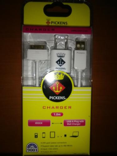 cargador iphone 4, 5, 6, 7 ipad, ipod