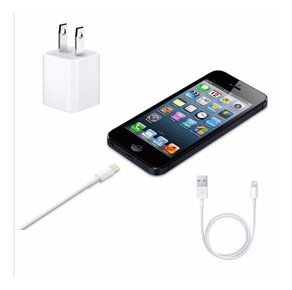 2e2bbcfe2ac Cargador iPhone + Cable Lightning Usb Apple Original - $ 89.900 en ...