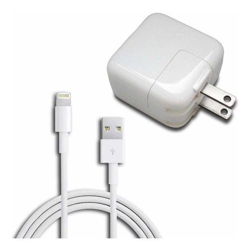 cargador iphone carga rápida 12w apple ipad original