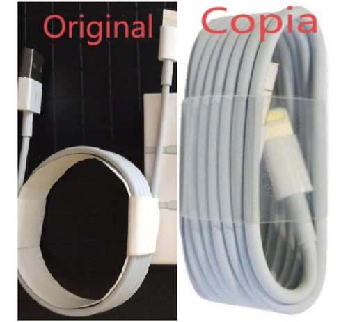 cargador iphone xs/5 /6s-7-8plus + cable usb apple lightning
