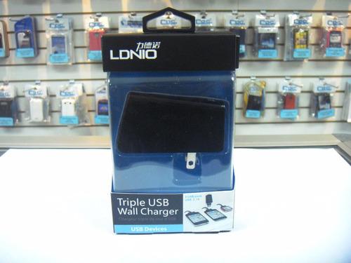 cargador ldnio dl-ac218 pared ipad/samsung tablet