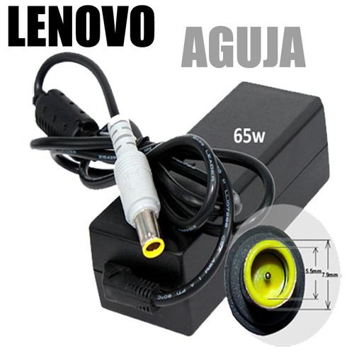 cargador lenovo 20v 3.25 amp adaptador supresor picos