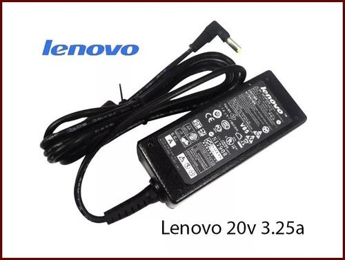 cargador lenovo original 20v 3.25a g450 g460 g480 g550