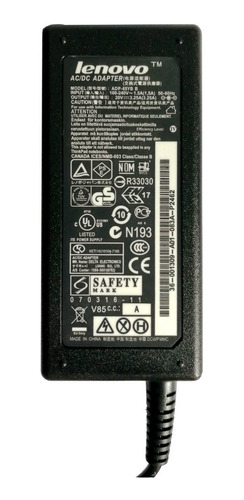 cargador lenovo original 20v 3.25a g450 g460 g480 g550 g580 con cable a la pared de regalo