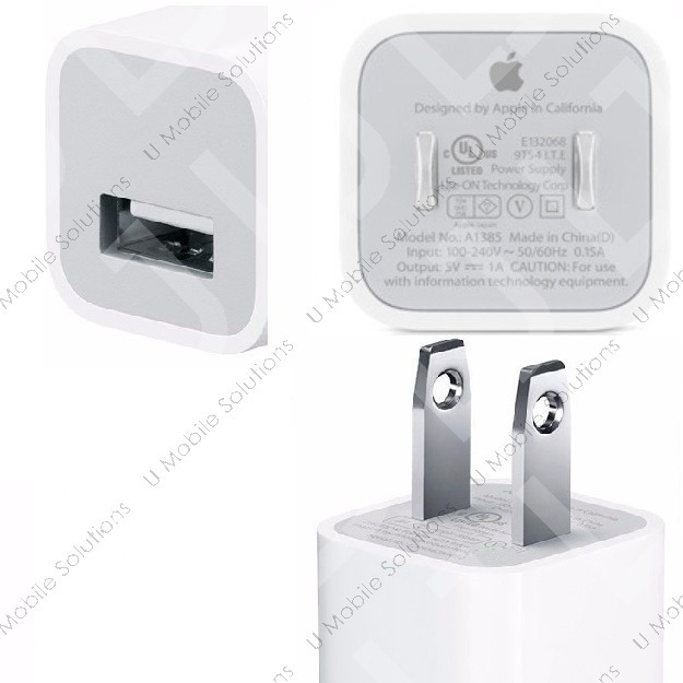 753d6192556 Cargador Lightning Cable + Cubo iPhone 5 6 7 8 X iPod 1 Amp ...