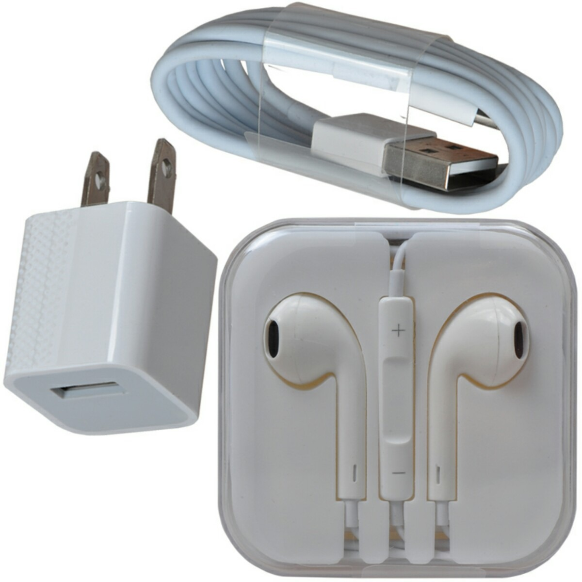 4108db15b61 cargador lightning y audifonos para iphone 5-6 original. Cargando zoom.