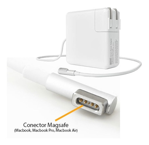cargador mac macbook pro   16.5v- 3.65 a 60w apple