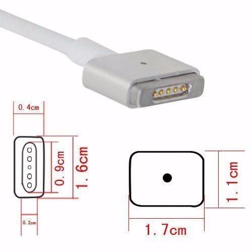 cargador mag safe 2 de 60 w para macbook pro de 13'' retina