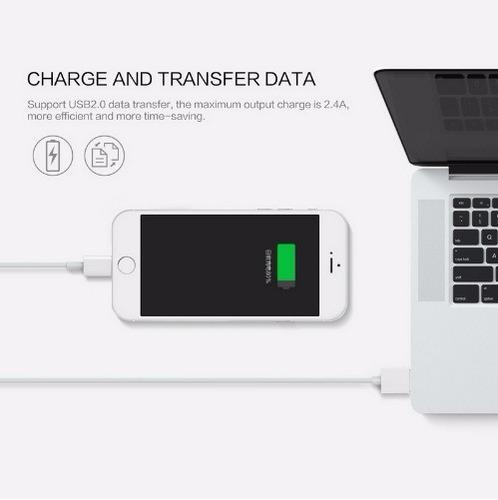 cargador magnético lightning para iphone 5, 6, y 7