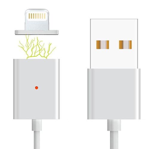 cargador magnético micro usb o lightning
