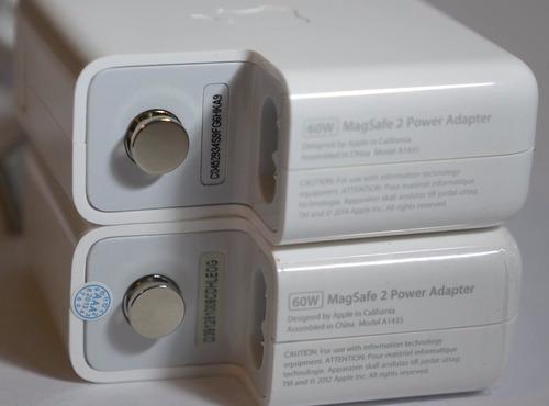cargador magsafe 2 45w & 60w usado original apple + garantía