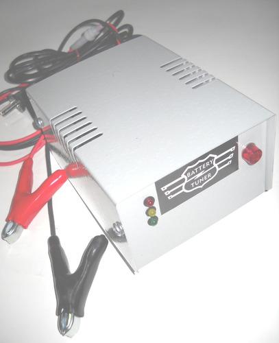 cargador mantenedor bateria 12v automatico grupo electrogeno