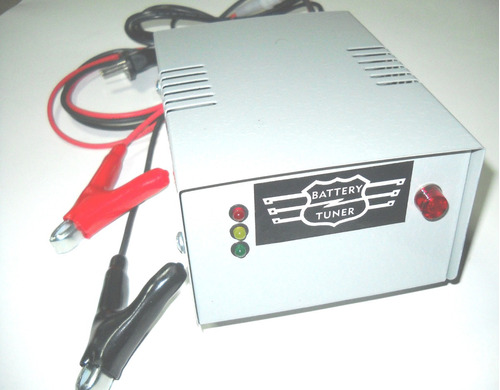 cargador mantenedor bateria 12v8a autom.grupo electrogeno