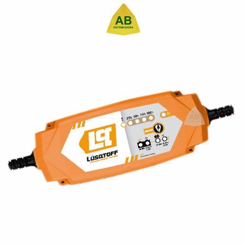 cargador mantenedor batería auto inteligente lusqtoff 12v 2a
