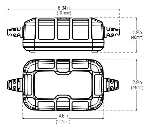 cargador mantenedor de batería 6v 12v 5a genius 5 noco
