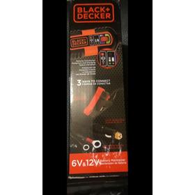 Cargador /mantenedor De Baterías 12v Y 6v Black & Decker