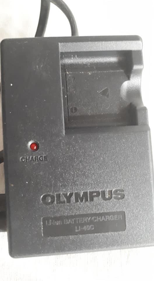 Cámara de batería cargador estación de carga para olympus fe-330