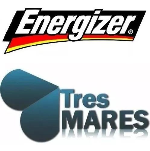 cargador maxi energizer + 2 pilas aa recargables 1300mah envio