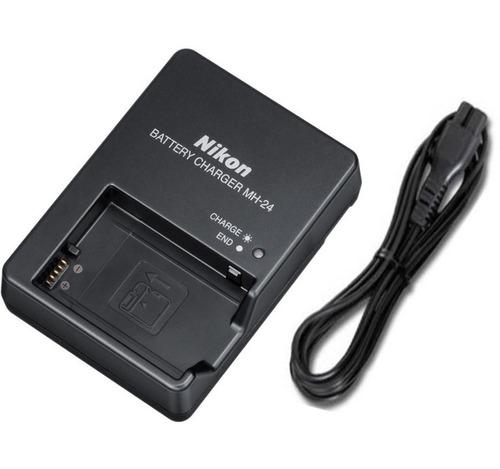 cargador mh-24 para batería nikon en-el14 d3100 d3200 d5100