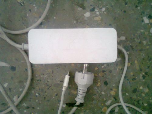 cargador mini mac g4, 85 watios, funciona perfectamente