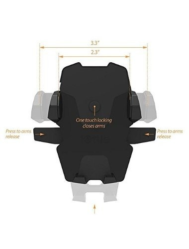 cargador monte iottie hlcrio132 fácil one touch inalámbrica