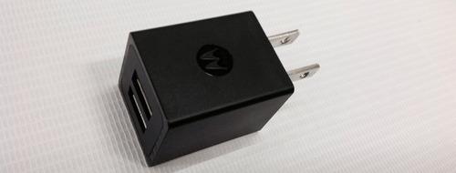cargador motorola dual x2 puertos usb +cable datos universal