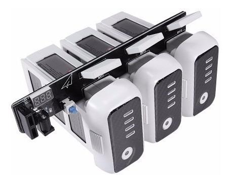 cargador multiple de baterias para drone phantom 3
