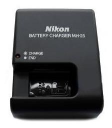 cargador nikon bateri